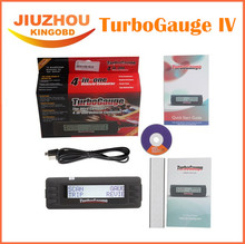 2016 new Turbogauge IV 4-in-1 Vehicle Computer OBDII/EOBD car trip computer / Digital Gauges/ scan gauge/ car scan tool