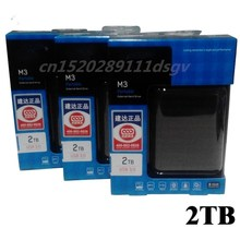 "hot! Hard disk M3 2000gb/2 TB 2.5 ""3.0 Portable USB Hard Drive HDD Black External Hard drives 3 Year giant free shipping"