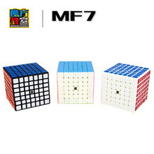 MOFANGJIAOSHI MF7 Professional 71mm 7X7X7 7 Brain Teaser Track Magic Cube Competition Speed Puzzle Cubes Funny Educational Toys(China)