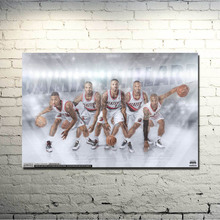 Buy Damian Lillard Super basketball MVP Star Art Silk Poster 13x20 inches Picture Living Room Decor 003 for $4.91 in AliExpress store