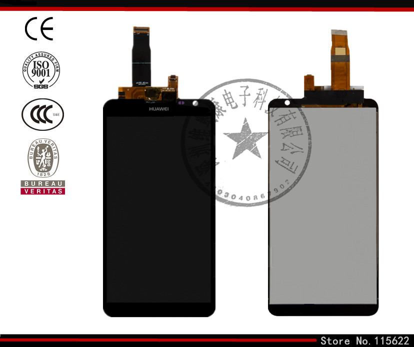 LCD for Huawei Ascend Mate 2 MT2-L03 LCD Display+Touch Screen+Digitizer Glass with Logo (black)<br><br>Aliexpress