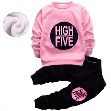 1-5yrs Baby Boys Girls Clothes Kids Clothes Suit  Tops+ Pants 2pcs Toddler Girls Children Clothing Sets Minnie Christmas Costume