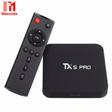 TX5 Pro Android 6.0 TV BOX 2G/16G Amlogic S905X Bluetooth Dual Wifi Smart Media Player HD 4K CODI 16.1 Quad core Set Top TV Box