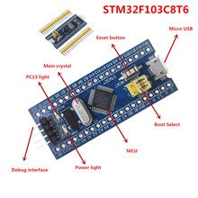 Smart Electronics 10Pcs STM32F103C8T6 ARM STM32 Minimum System Development Board Module for arduino DIY KIT