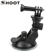 7cm Windshield Car Suction Cup Mount For Gopro Hero 6 5 4 3 Session Xiaomi Yi 4K 4k+ SJCAM SJ4000 Action Camera Stand Accessory(China)