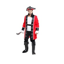 High Quality New Adult Kids Costumes West Cowboy Cosplay Halloween Costumes for Men in Fancy Dress Carnival Party(China)
