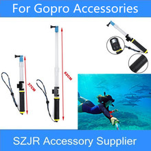 Go pro Camera Accessories Floating Extension Pole Float Floaty Monopod With WIFI Remote Clip For Gopro Hero 5 4 3+/3 SJCAM