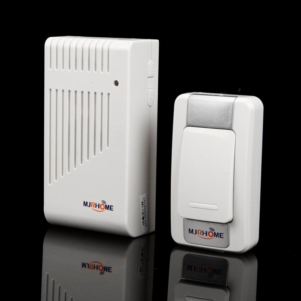 Smart Wireless Doorbell Waterproof 200M remote control door bell elderly pager door ring<br><br>Aliexpress