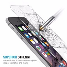 200pcs Tempered Glass Screen Protector Excellent Fitting Premium 9H Screen Protector Featuring Anti-scratch for iphone 7 plus(China)