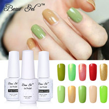 Beau Gel 8ML Multi Color Starry Gel Nail Polish Soak Off Semi Permanent Color Polishing for Nails Professional Nail Art Designs