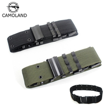 2017 New Arrival Sale Outdoor Army Tactical Belt Military Nylon Belts Mens Waist Swat Strap With Buckle Rappelling Two Color