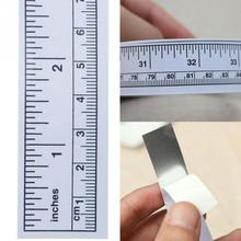 2017 New 45/90cm Vinyl Metric Measure Soft Ruler Tape DIY Self Adhesive Measuring Tape Ruler Sticker Home Sewing Tool Accessory(China)