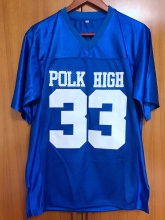 Married With Children Al Bundy 33 Polk High American Football Jersey Stitched Blue(China)