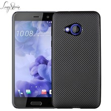 [Long Steven]For HTC U Play Case Ultra-Thin Design Carbon Fiber Pattern Cover Polishing For HTC UPLAY Case Funda Capa Para(China)