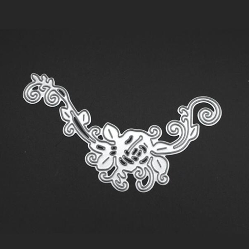 YLCD696 Lace Fairy Metal Cutting Dies For Scrapbooking Stencils DIY Album Paper Cards Decoration Embossing Folder Die Cuts Mold