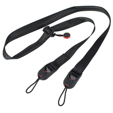 Orbmart Black Adjustable Quick Release Camera Leash Camera Strap Sling for GoPro Hero 4/3+/3/2/1 Sports Action Camera