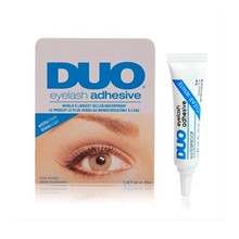 False Eyelash glue DUO anti-sensitive hypoallergenic Makeup Waterproof Adhesive Eyelashes glue (white glue) wholesale