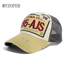 195 ARIZONA Snapback Mesh Baseball Cap Men Women Letter Caps Breathable Bone Adult Fitted snapback caps hip hop