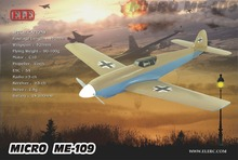 Free Shipping Micro Airplane ME109 (World War II) EPO plane KIT (UNASSEMBLED )RC airplane RC MODEL HOBBY TOY HOT SELL RC PLANE(China)