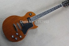 Free Shipping Factory custom shop 2015 new 1980 One Piece Neck Standard Electric Guitar Natural les For Sale paul
