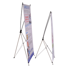 20PCS Luxury 80x180cm Korea Aluminum Portable Advertising X Banner Stand Trade Show Durable X Display Stand Without Printing