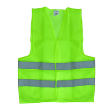 FGHGF Visibility Security Safety Vest Jacket Reflective Strips Work Wear Uniforms Clothing 2 Color Hot Sale(China)