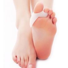 Hot Soft Beetle-crusher Bone Ectropion Toes Outer Appliance Silica Gel Toes Separation Health Care Products Hallux Valgus Pro(China)