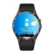 New KW88 Smart Watch  Android 5.1 MTK6580 1.39 inch Amoled Display 400*400 Support 3G Calling Pedometer Heart Rate Monitor