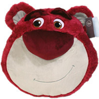 New Arrival Original Toy Story Big Lotso Strawberry Bear Cute Cushion Plush Toy Doll Birthday Children Gift Limited Collection