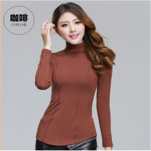 10Color Large size 4XL Turtleneck Sweater 2017 New Hedging Turtleneck Knit Shirt Fashion Slim Authentic Basic Tops Free Shipping