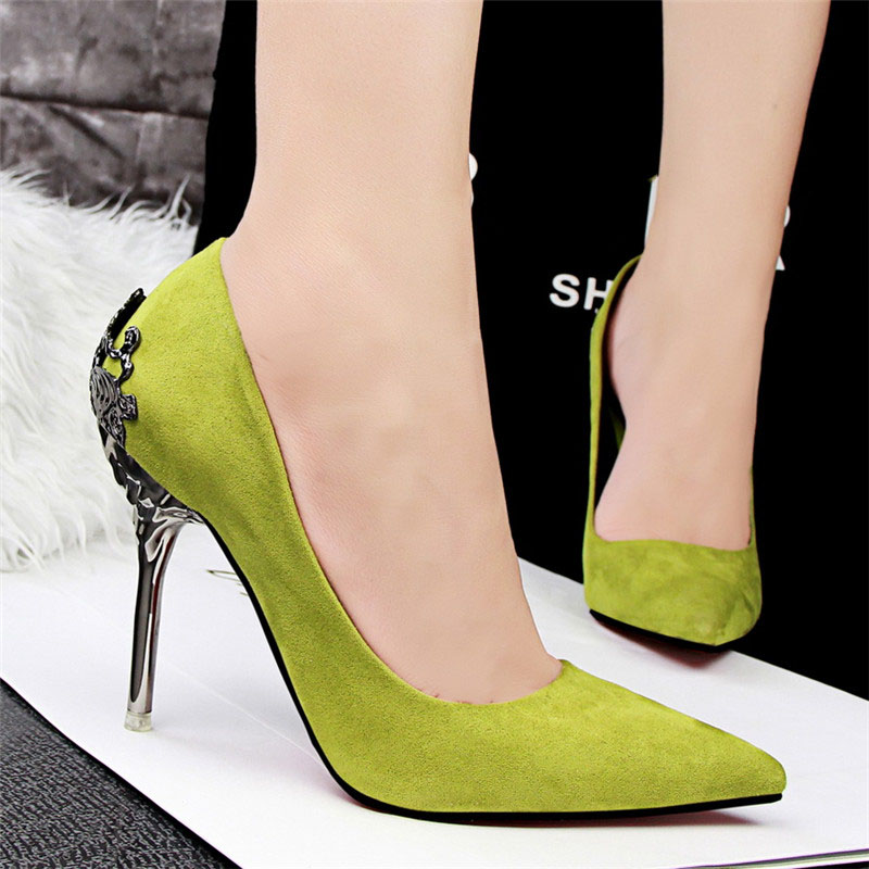 Sexy High Heels Shoes Woman Pumps Red Gold Silver High Heels Shoes Woman Ladies Wedding Party Shoes 2018 22