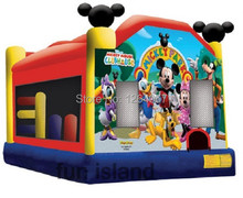 Favorites Compare inflatable mickey jumps ,commercial bouncer jumper. with blower