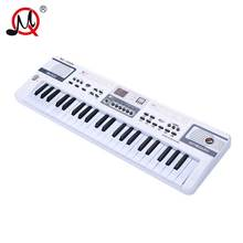 44 Keys Kids Piano White Musical Instrument Keyboard Educational Toys For Children Professional Learning Music Records Toy Gift