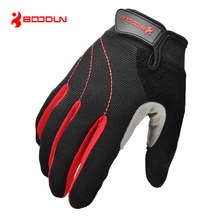 High Quality Bike Glove Full Finger Long Gel Polyester Silicone Road Mountain Bike Gloves Cycling MTB Glove for Man and Women(China)