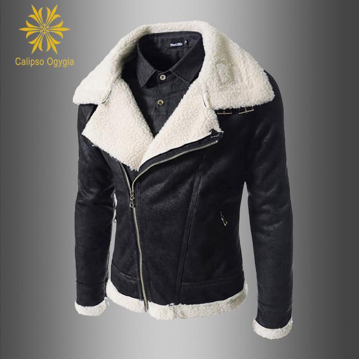 Кожаные куртки меховой капюшон