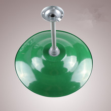 Factory Shop warehouse Green Lamp Shade E40 Base with Iron Tube 20PCS