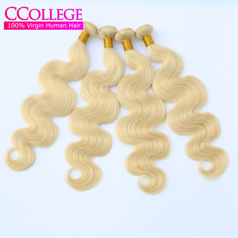Honey Blonde Malaysian Hair Body Wave 4Pcs Human Hair Weave Wavy Bundles Color 613 Grade 7A Malaysian Virgin Remy Hair Extension<br><br>Aliexpress