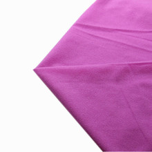 50*100cm Purple Solid Fleece Fabric Tilda Plush Cloth Anti-Pilling Polar Fleece Handmade Doll Tissue Fusible Loop Fabrics 11#(China)