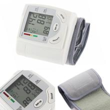 1pcs Digital Lcd Upper Arm Blood Pressure Monitor Heart Beat Meter Machine Tonometer for Measuring Automat Home Health Care Tool