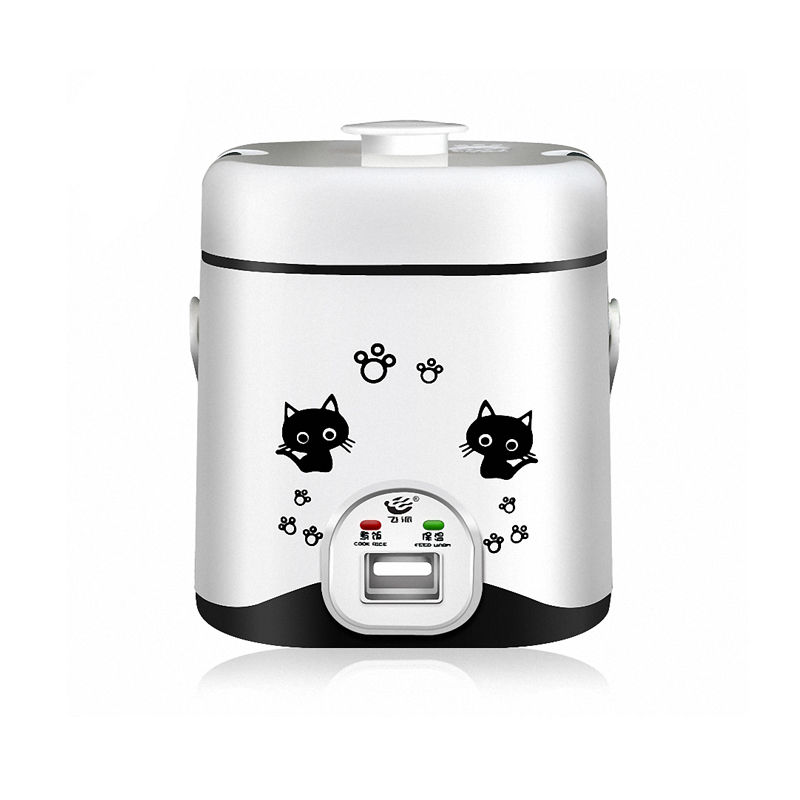 Automatic micro-rice cooker 1.2 liters, presented conversion plug<br>