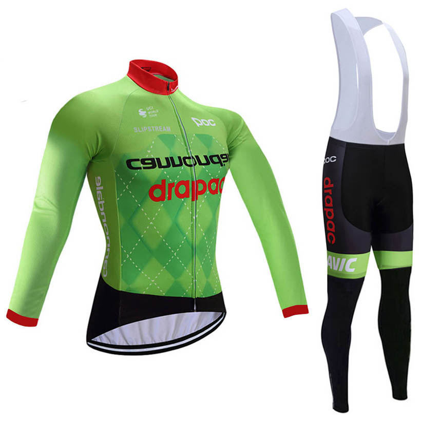 2017 pro green Winter cycling clothing women men fleece thermal ropa ciclismo invierno bicycle mtb cycling jersey long sleeve<br><br>Aliexpress
