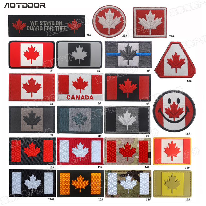 4 Pack 2 x 1.25 I Love Canadian Gas /& Oil Vinyl Stickers