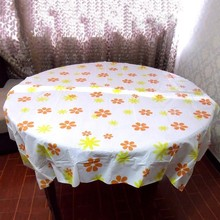 Newly Disposable Tablecloth Waterproof Oilproof Wedding Restaurant Home Kitchen Table Cloth Pastoral Table Cover