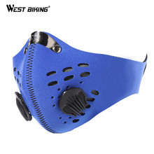 WEST BIKING Winter Face Mask Dust Windproof Motorcycle Hiking Skiing Warm Mask Protection Bike Cycling Face Mask