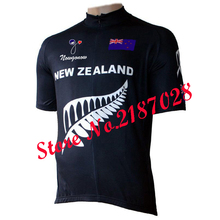 New Zealand national team cycling jersey Cycling Tours wear bicycle clothing short sleeve white&black(China)