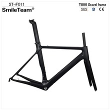 Buy Smileteam New T800 UD Carbon Road Frame Bike Racing Frameset, Road Carbon Bicycle Frame Fork+seatpost+Headset Stock for $398.58 in AliExpress store
