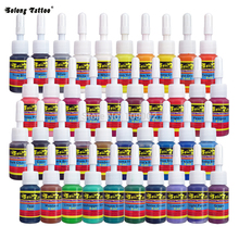 Solong Tattoo Tattoo Ink Pigment Set 40 Colors 5ml Taty Ink Sets for Tattoo Machine Gun Kit TI1001-5-40 Free Shipping(China)