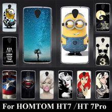 Soft TPU Plastic Case For HOMTOM HT7 HT 7 Pro Mobile Phone Cover Bag Cellphone Housing Shell Skin Mask Color Paint Shipping Free