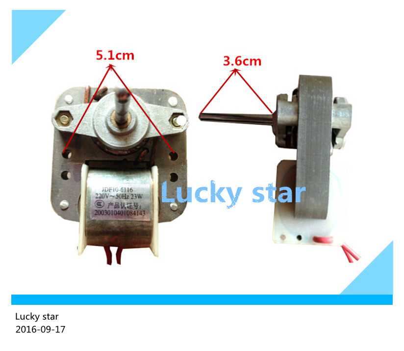 good working High-quality for refrigerator fan Motor 220V 23W JDF10-6116 cooling fan motor  <br><br>Aliexpress