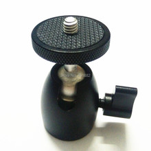 360 Degree Rotating Mini Ball Head with 1/4 Thread to 1/4 Screw Mount for DSLR DV Camera Stand Tripod Ballhead
